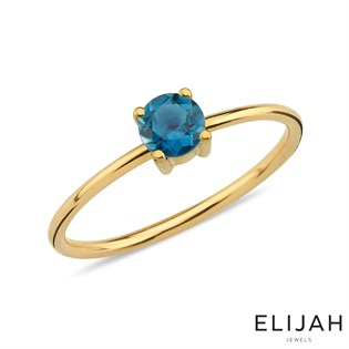 Beth London Blue Topaz Yüzük